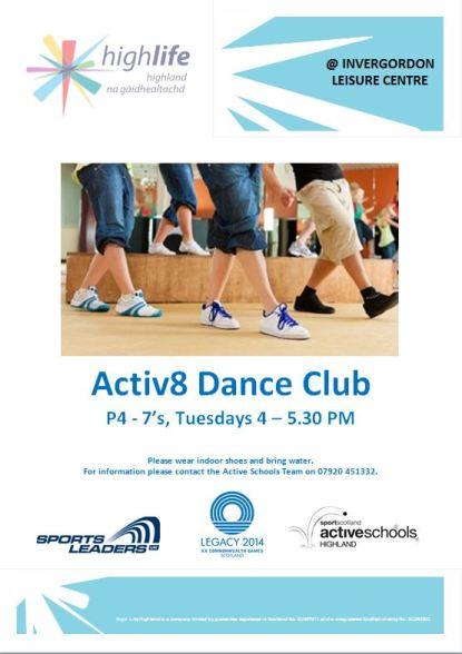 Jakes Activ8 Dance