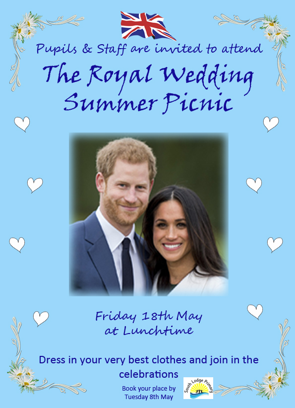 Royal Wedding Summer Picnic Poster