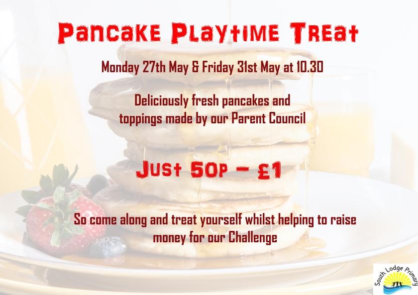 Pancake Playtime Poster