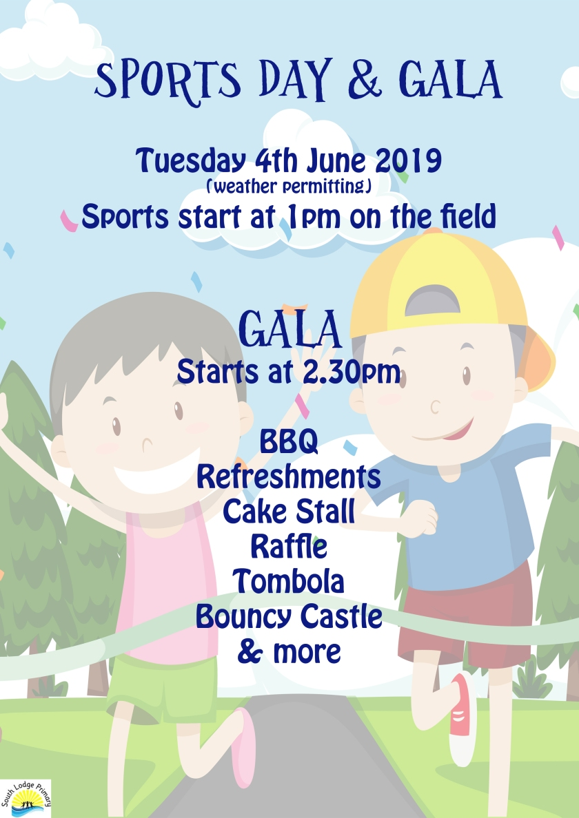 Sports Day and Gala Poster